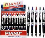 """Ручка автоматическая """"PIANO"""" PТ-191 синяя, фото 2"""