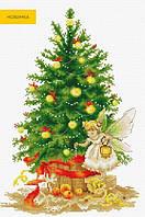 """Набор для вышивания крестом """"Luca-s"""" B1117 Рождественская ёлка"""