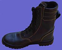 Ботинки с завышенными берцами кожаные кпп утепленные