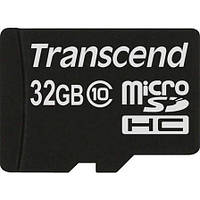 Карта памяти MicroSDHC 32Gb Transcend Class 10