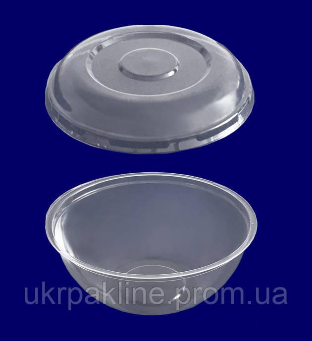 Упаковка круглая арт.600 с крышкой арт.750 РК/РРК/РКВ