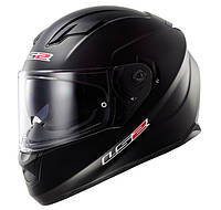 Шлем интеграл LS2 FF320 STREAM MATT BLACK