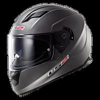 Шлем интеграл LS2 FF320 STREAM MATT TITANIUM