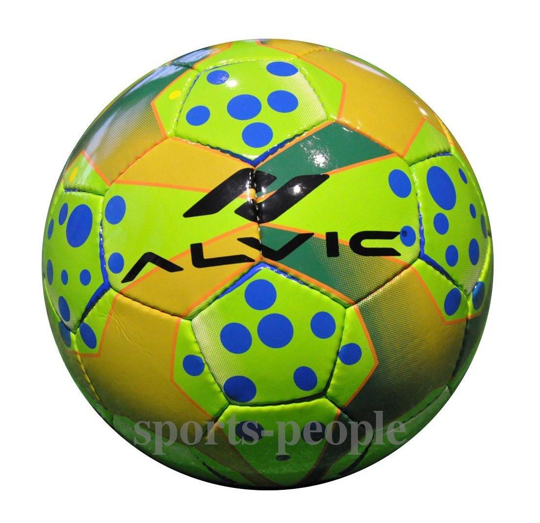 Мяч футзальный/для футзала Alvic №4, синтетическая кожа, зеленый цвет