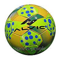 Мяч футзальный/для футзала Alvic №4, синтетическая кожа, зеленый цвет, фото 1