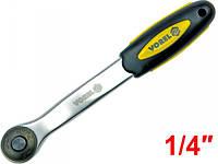 Ключ трещоточный 1/4″ Vorel 53571