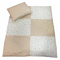 Набор в коляску Twins /одеяло и подушка/ multi, 75*65 см