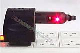 Авто разъем №1 штекер с индикатором для прикуривателя розетки штепсель переходник под пайку, фото 2