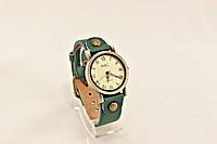Часы ВИНТАЖ зеленые