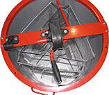Медогонка 3-х рамочная алюмоцинковая  с неповоротными кассетами, фото 3