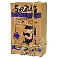 """Кофейный набор """"FOR STRONG MAN"""" 50гр кофе+5 плиток с комплиментами"""