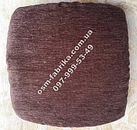 Набор коричневых чехлов на табуретки