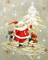 """Набор для вышивания крестом """"Luca-s"""" B1118 Дед Мороз"""