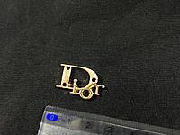 Пришивная металлическая эмблема Dior