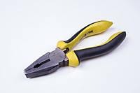 Плоскогубцы Professional 200 мм, Cr-V, HRC 45-55, желтые ручки, фото 1