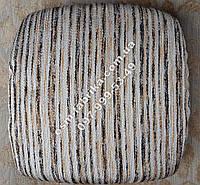 Полосатые чехлы на поролоне для табуреток