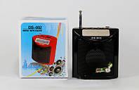 Портативная колонка для телефона SPS DS 002, 2,5 Вт, FM-радио, USB-порт, слот для карт microSD, ЖК-экран