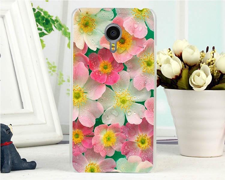 Эксклюзивный чехол для Meizu MX4PRO с картинкой Нежные цветы