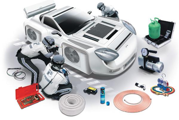 Инструмент и комплектующие для автокондиционеров