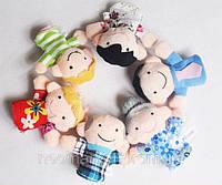 Пальчиковый кукольный театр Семья (в наборе 6 игрушек)