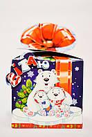 №730.Детская картонная коробка для новогодних подарков.В Полтаве.Оптом.