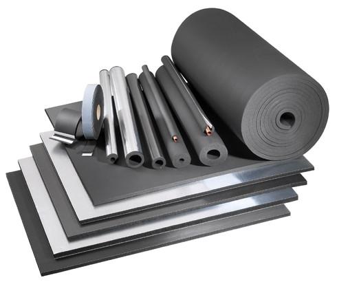 Изоляция из вспененного каучука (листовая изоляция, изоляция в рулоне) oneflex (ванфлекс)