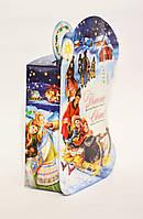 №743.Детская картонная коробка для новогодних подарков.В Полтаве.Оптом.