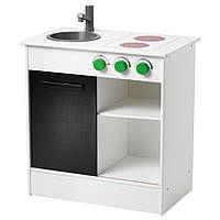 Игрушечная кухня IKEA NYBAKAD белый черный 703.060.21