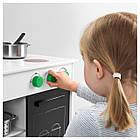 Игрушечная кухня IKEA NYBAKAD белый черный 703.060.21, фото 2