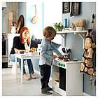 Игрушечная кухня IKEA NYBAKAD белый черный 703.060.21, фото 4