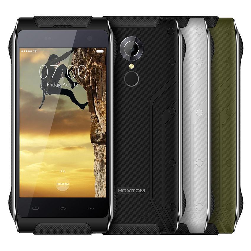"""Смартфон Doogee Homtom HT20 2sim, защита IP68, 4.7"""" IPS, 2/16Gb, 3500mAh, 4 ядра, 8/5Мп, Android 6.0, 4G, GPS"""
