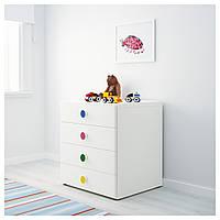 STUVA / FÖLJA Kombinacja z szufladami, biały 591.805.27