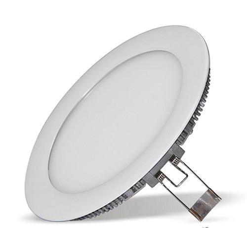 Светодиодный светильник Lumen 15W круглый встраиваемый белый (LED панель)