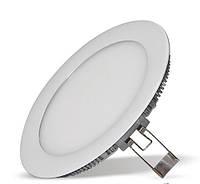 Светодиодный светильник Lumen / 15W / круглый встраиваемый белый (LED панель)