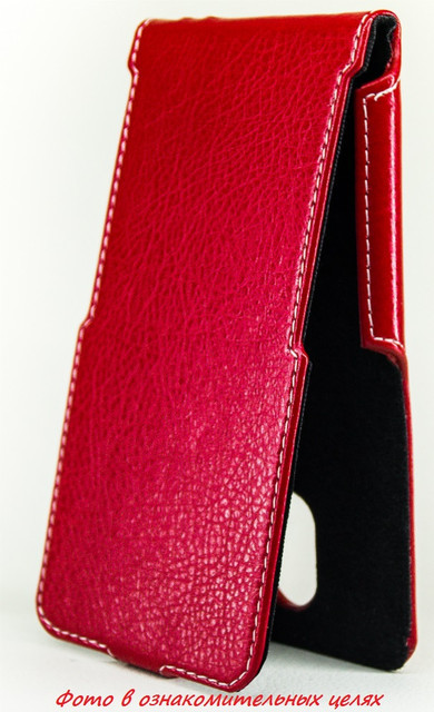 Чехол Status Flip для HTC Butterfly 3 Red
