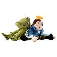 KVACK Мягкая игрушка, лягушка/принц