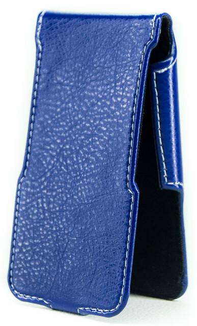 Чехол Status Flip для HTC One 802w, 802d, 802t Dark Blue
