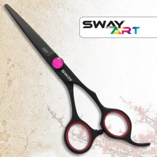 Ножницы для стрижки Sway 110 30555R Art Neon Pink 5,5