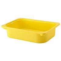 TROFAST Контейнер, желтый