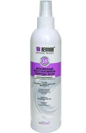 Мгновенный восстановитель структуры волос Revivor Intensive Белита Витэкс (Беларусь) 250мл RBA /82-37