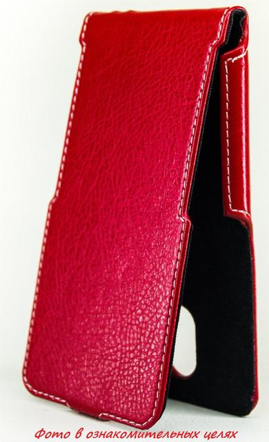 Чехол Status Flip для HTC One A9 Red