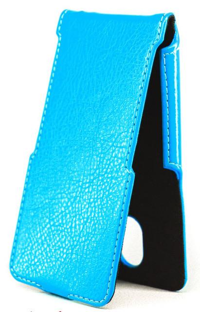 Чехол Status Flip для HTC One mini 2 Blue