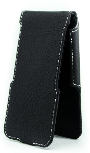 Чехол Status Flip для Huawei Honor 2 Black Matte