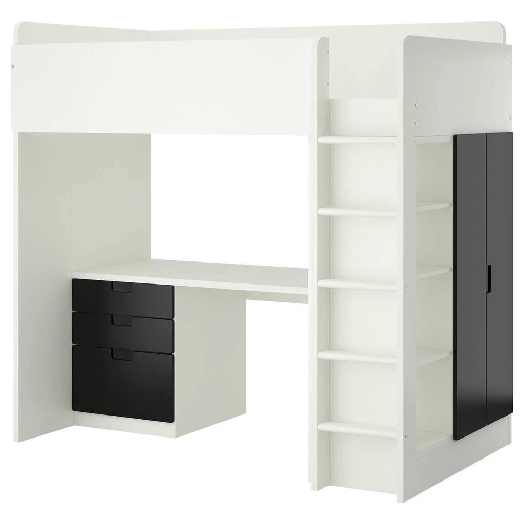 STUVA Универсал вставь antr/3 ящики с организац/2 drz, белый, черный