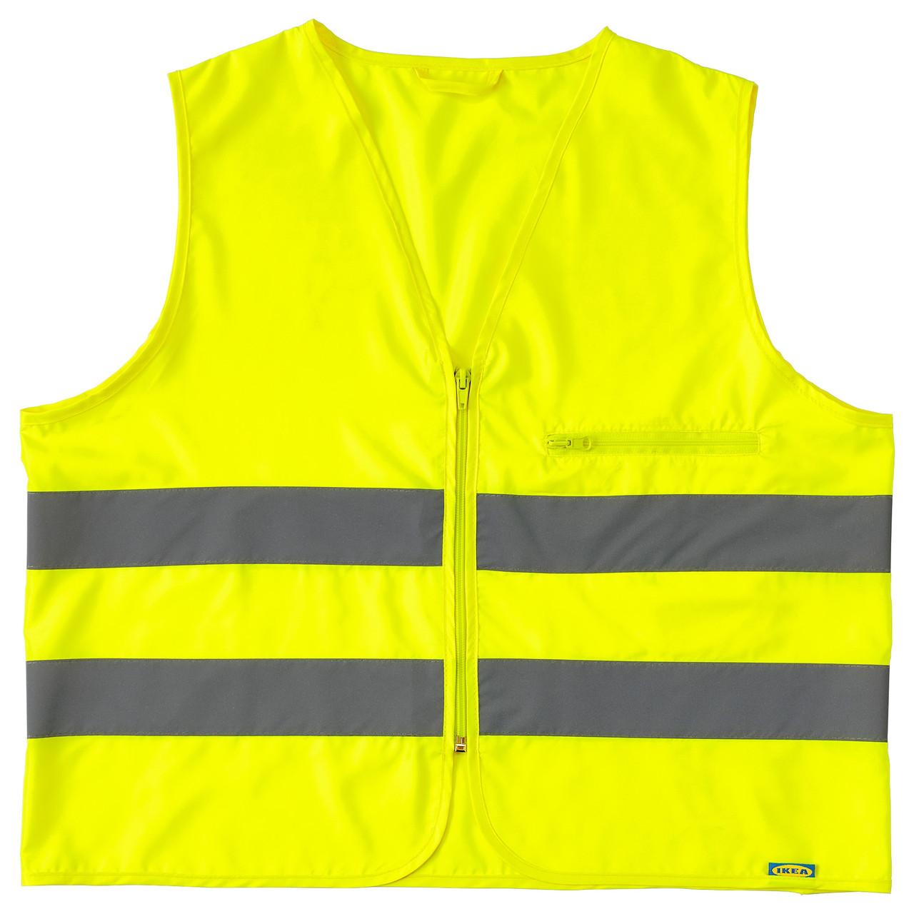 BESKYDDA Жилет светоотражающий, желтый M, желтый 603.157.71
