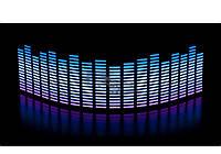 Эквалайзер фиолет-белый-синий 70х16см