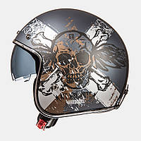 Мотошлем MT-Helmets LE MANS SV HARDCORE MATT ANTHRACITE/BLACK/RUST size M