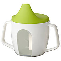 Кружка для кормления ребенка икеа BÖRJA, зеленая, IKEA, 202.138.83