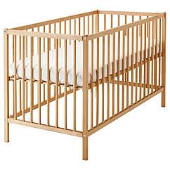Детская кровать IKEA SNIGLAR бук 302.485.37