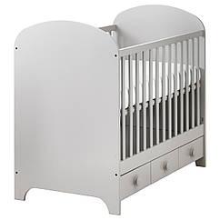 Детская кровать IKEA GONATT светло-серый 002.579.53